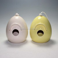Ceramic Egg Shape Bird House