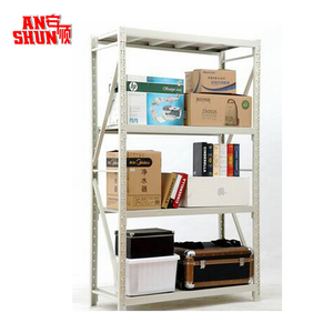FAS-062 Adjustable Layers Heavy duty sheet warehouse rack / metal storage shelving