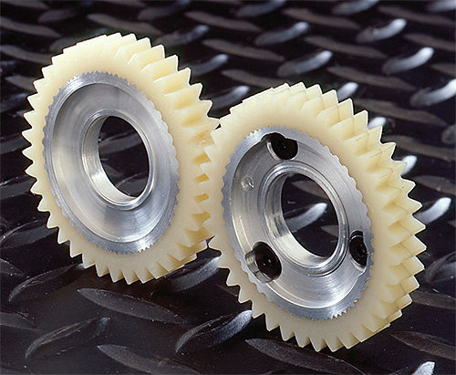 top quality split design backsplash plastic spur gear POM gear
