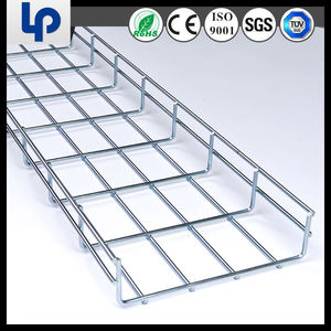 Stainless wire mesh steel cable basket 2015 hot seller