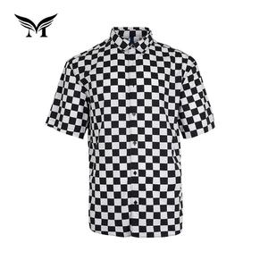 Made in China casual new pattern designer cotton check shirts for men