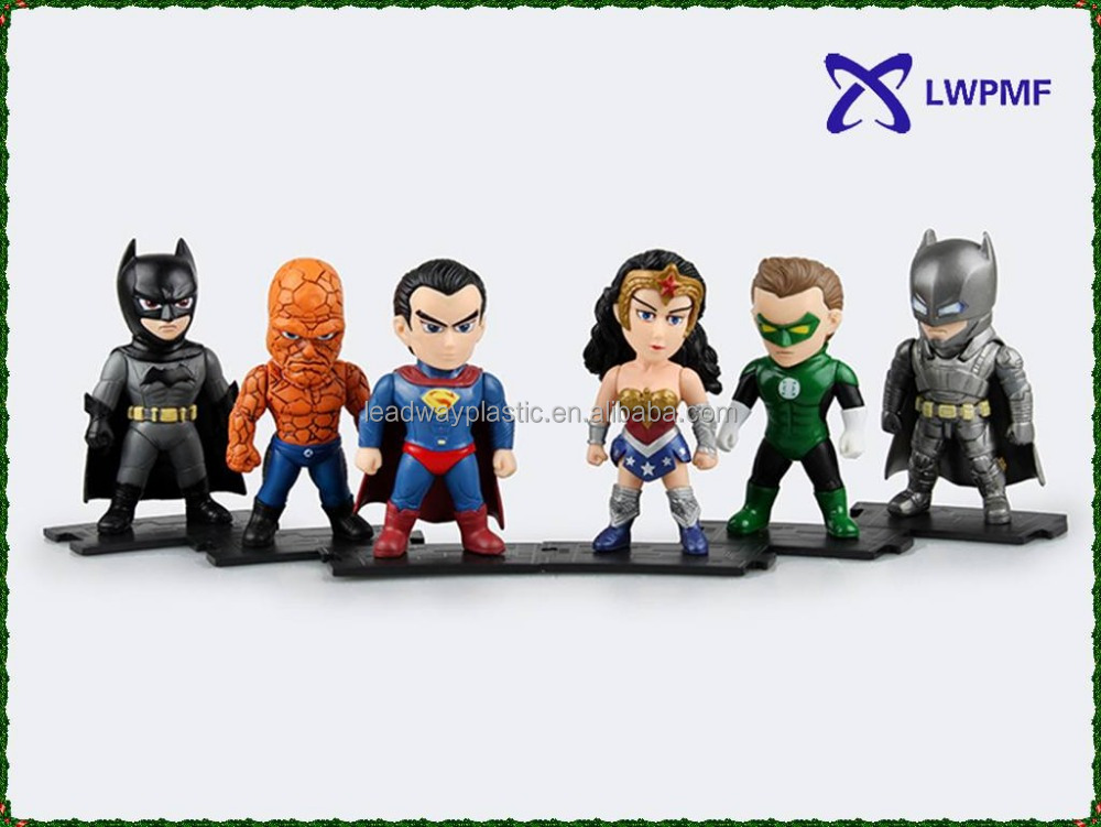 DC Justice League 9cm PVC Action Figure for Christmas gifts