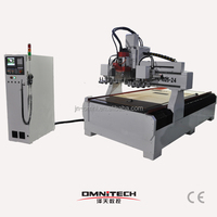 OMNI 4*8 Multifunction wood ATC CNC router with boring unit CNC with saw 1325