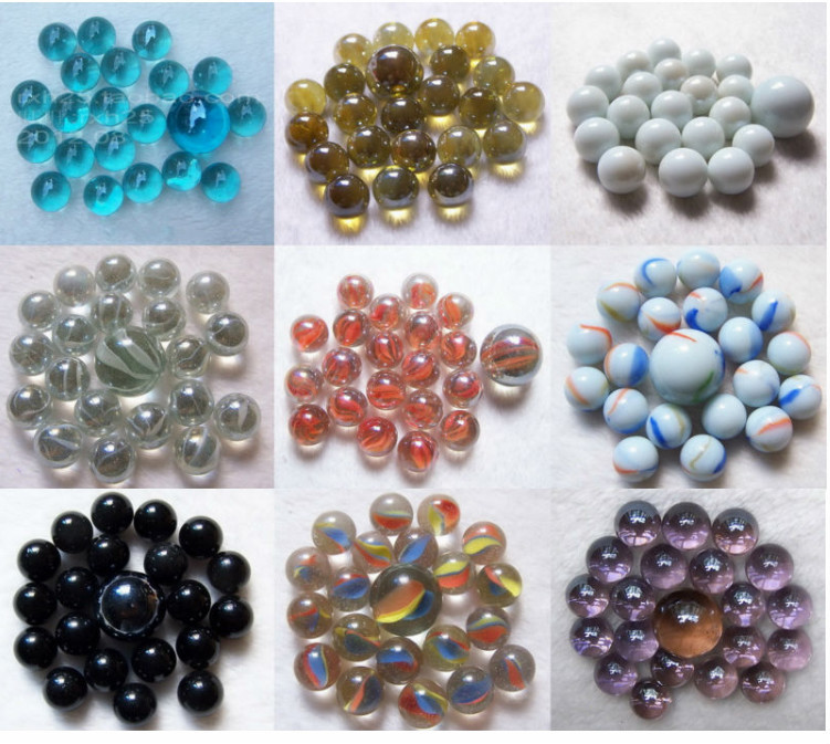 Clear Colored Marbles : Colored playing glass marbles buy marble