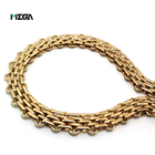 Guangzhou custom fashion plated hardware accessories metal bag chain wholesale chain decorative metal chain