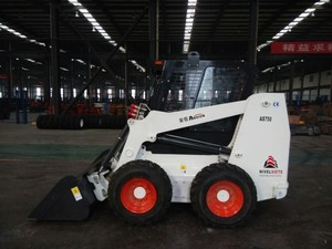 In stock 750kg JAPAN engine wheeled cheap skid steer for sale by owner