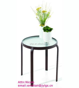 Mini metal round corner table buy metal corner tablemetal vase mini metal round corner table watchthetrailerfo