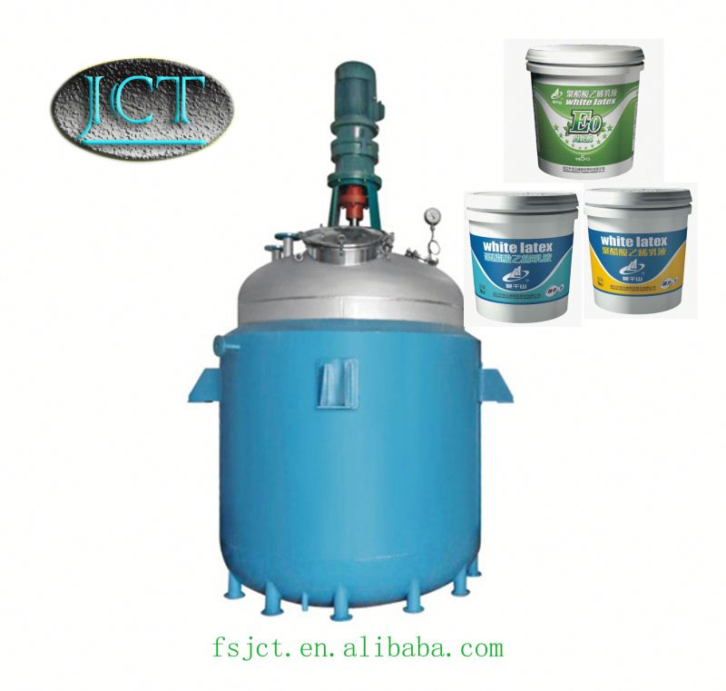 unsaturated polyester resin fixed bed reactor
