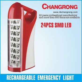 Geepaslight rechargeable emergency light CR-2624TP