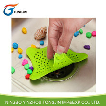 Hot sale silicone kitchen bath sink strainer hair stopper