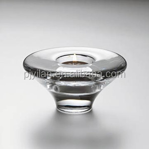 small elegant crystal tealight holder