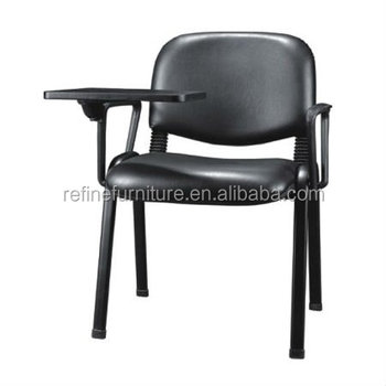 Vinyl Office Chair With Tablet Arm Rf T003a Buy Chair With Tablet