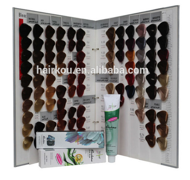 104 shades hair color swatch bookcolor design hair color charthair color shades - Hair Color Book