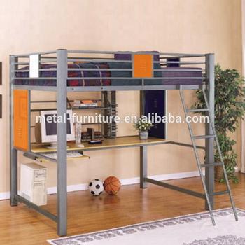 Estructura De La Precipitación Metal Acero Litera Loft Dormitorio