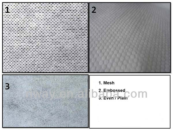 Disposable nonwoven solid color flat bed sheets, spa bed sheets