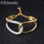 Factory Direct Selling Brass Jewelry Fashion Top Quality 18K Gold Plated Ladies Bangle