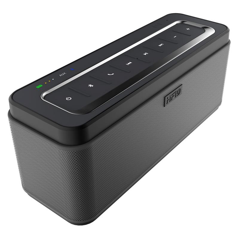 Hot Sale Hitam 25 W Terbaik Bluetooth Speaker Bass Dengan NFC-Aksesoris Ponsel Lainnya-ID Produk