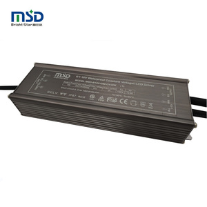IP67 waterproof 0-10V pwm dimmer led driver 50W Single output ac 220V to dc  12v mini led driver24Vconstant voltage power supply