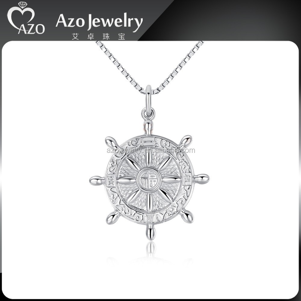 Fashion 925 Sterling Silver Eight Diagrams Pendant