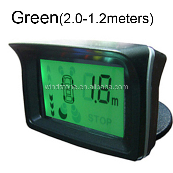 2,4,6,8 sensors OK LCD Display Parking Auto Radar System