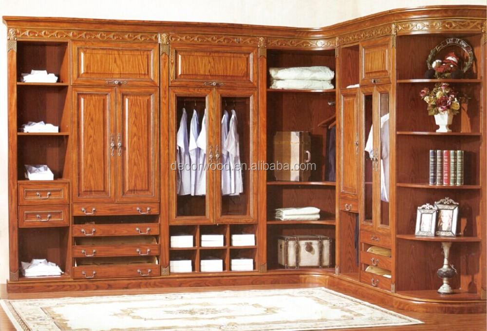 Muebles de madera tipo closet for Valor closet en madera