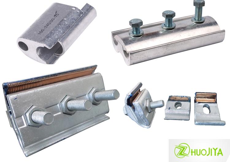 Zhuojiya Bimetallic Pg Clamp Rod Splice Connector Plastic