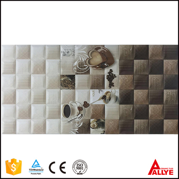 2017 Coffee Cup Design Fuhzou Supplier Decorative Interior Ceramic Wall Tile  For Kitchen Room
