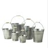 Zinc Bucket/Metal/Tin/Container/Storage/Flower Pot/Planter/Home/Garden