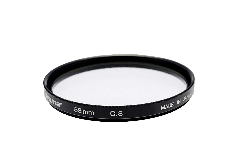 Fujiyama 58mm Cross Screen Filter Made in Japan for Fujifilm XF 18-55mm F2.8-4 R LM OIS