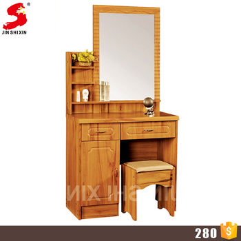 Bedroom Furniture Wooden Makeup Desk Dressing Table Mirror with