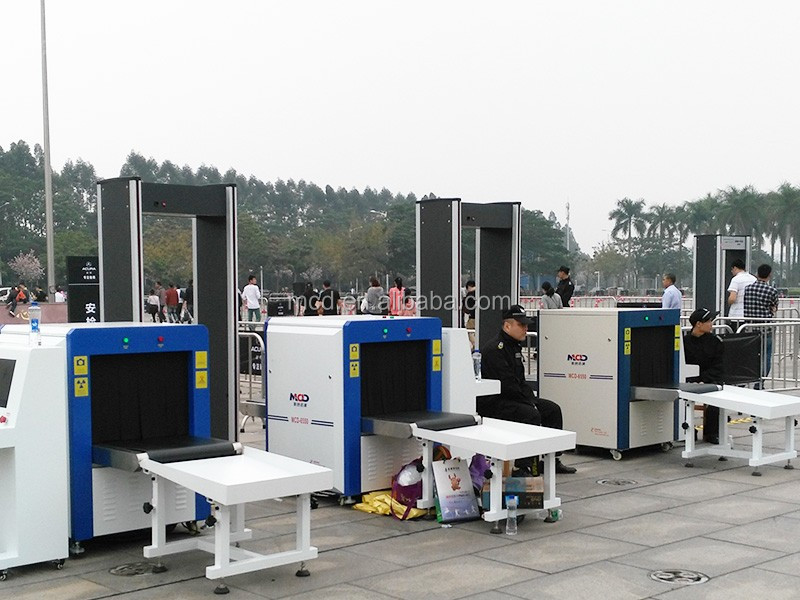 Police equipment airport baggage scanner x-ray inspection machines security x ray machine
