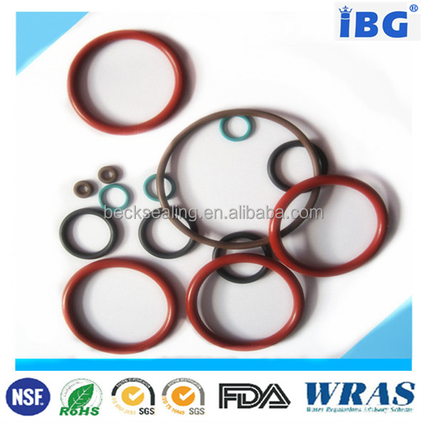 High Quality And Close Tolerance epdm rubber o ring teflon coated