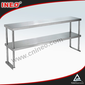 Commercial Restaurant Table Top Stainless Steel Shelvingineo Are - Stainless steel table top shelves