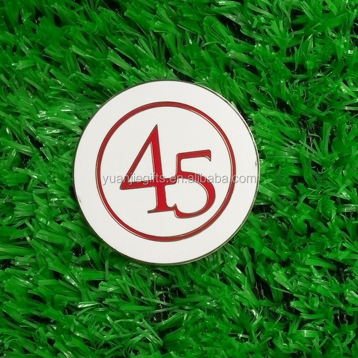 Golf ball marking tool - magnetic golf ball markers /Golf ball markers coin