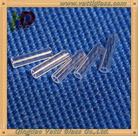 Small Size Clear Fire Polishing Quartz Glass Tube/Quartz Pipe