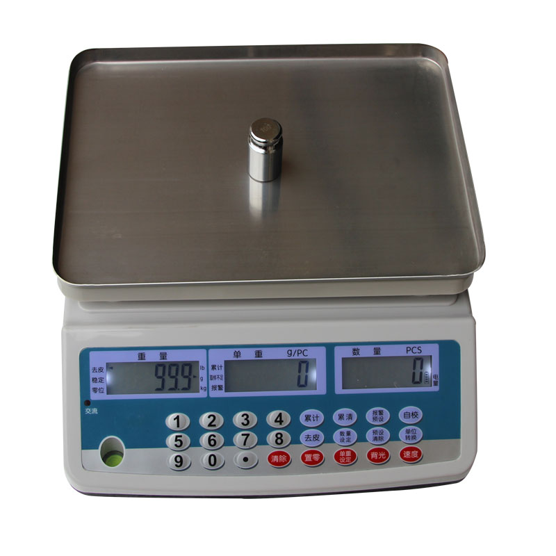 Readability 1g Rated Load 30kg Electric Weight Machine