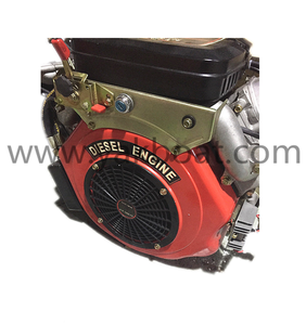 25HP High Quality 2 Cylinder Vertical Shaft Diesel Engine For Lawn Mowers