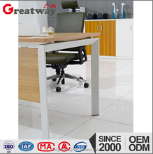 Cheap Modular Executive Office Table desk Furniture With side cabinet