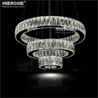 Modern Led Chandelier Round Giant For Hotel China Led Lights ...