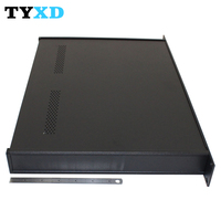 300 Deep Steel Chassis For Switches And Routers 1U 19'' Rack Mount Enclosure Server Case
