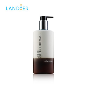 Private Label Coffee Deep Cleansing Moisturizing Liquid Body Wash