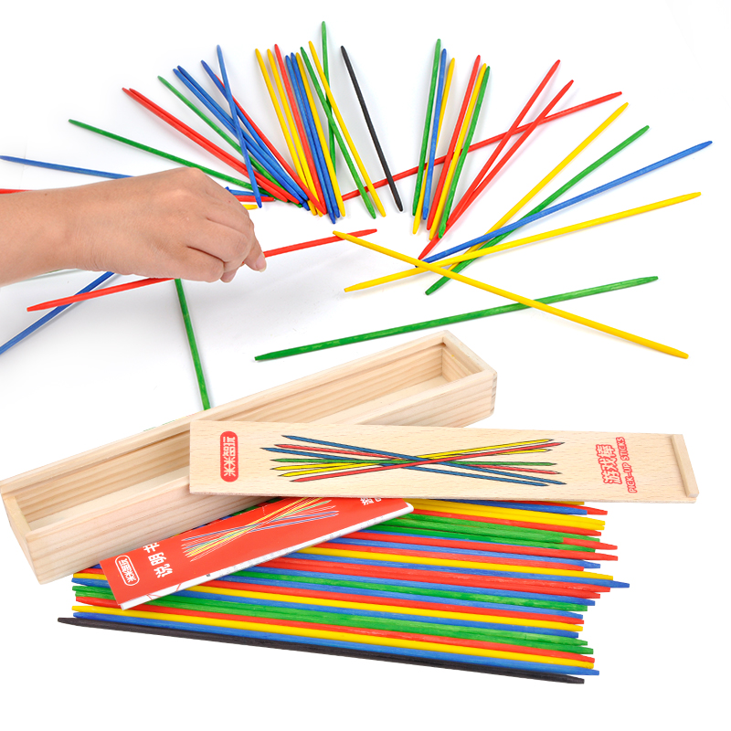 Toysmith 41-Piece Pick-Up Sticks Game 1-Pack