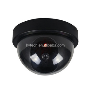 Security CCTV Fake Dummy Camera dome With Realistic Look Recording Flashing Red LED Light Indoor And Outdoor For Homes &business
