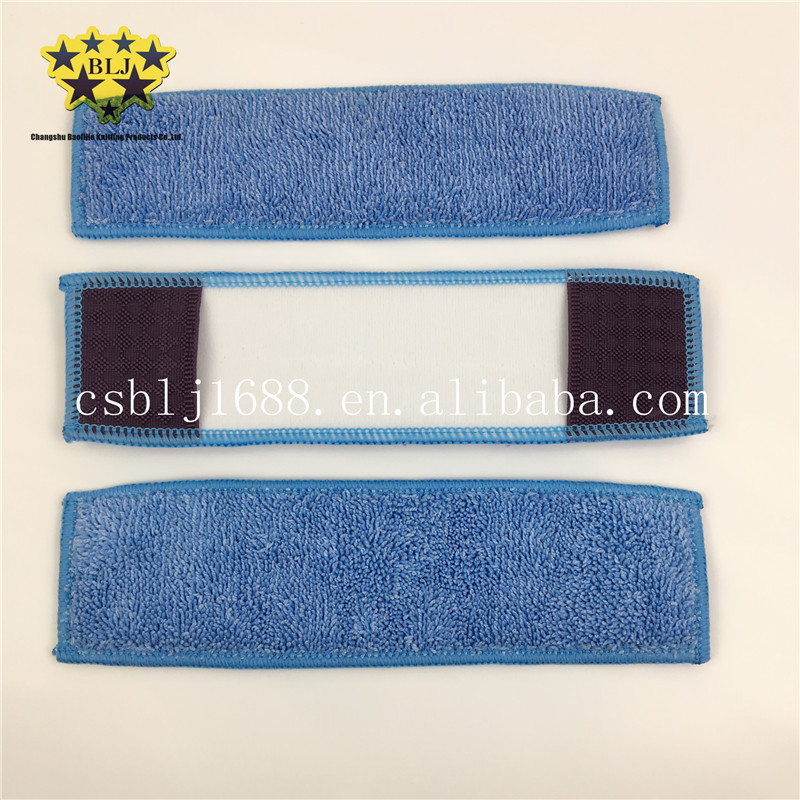 Blue Color 80% Polyester 20% Polyamide Microfiber Twisted Pile Window Cleaning Cloth The Same As TV Show