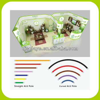 Custom portable frameless booth stand displays buy booth for Portable t shirt display
