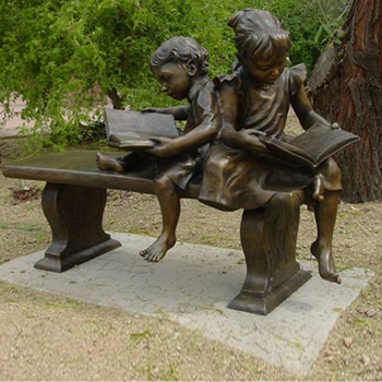 Garden Ornaments Life Size Child Reading Book Statues - Buy Life ...