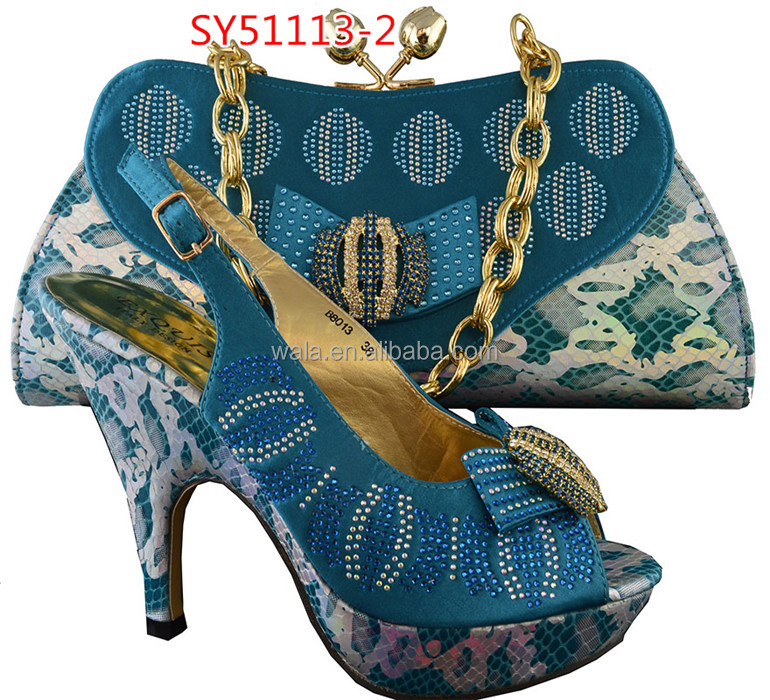 and high shoes to beautiful women match heel SY51113 italian 3 bag and bags shoes fuchsia OgpHqT