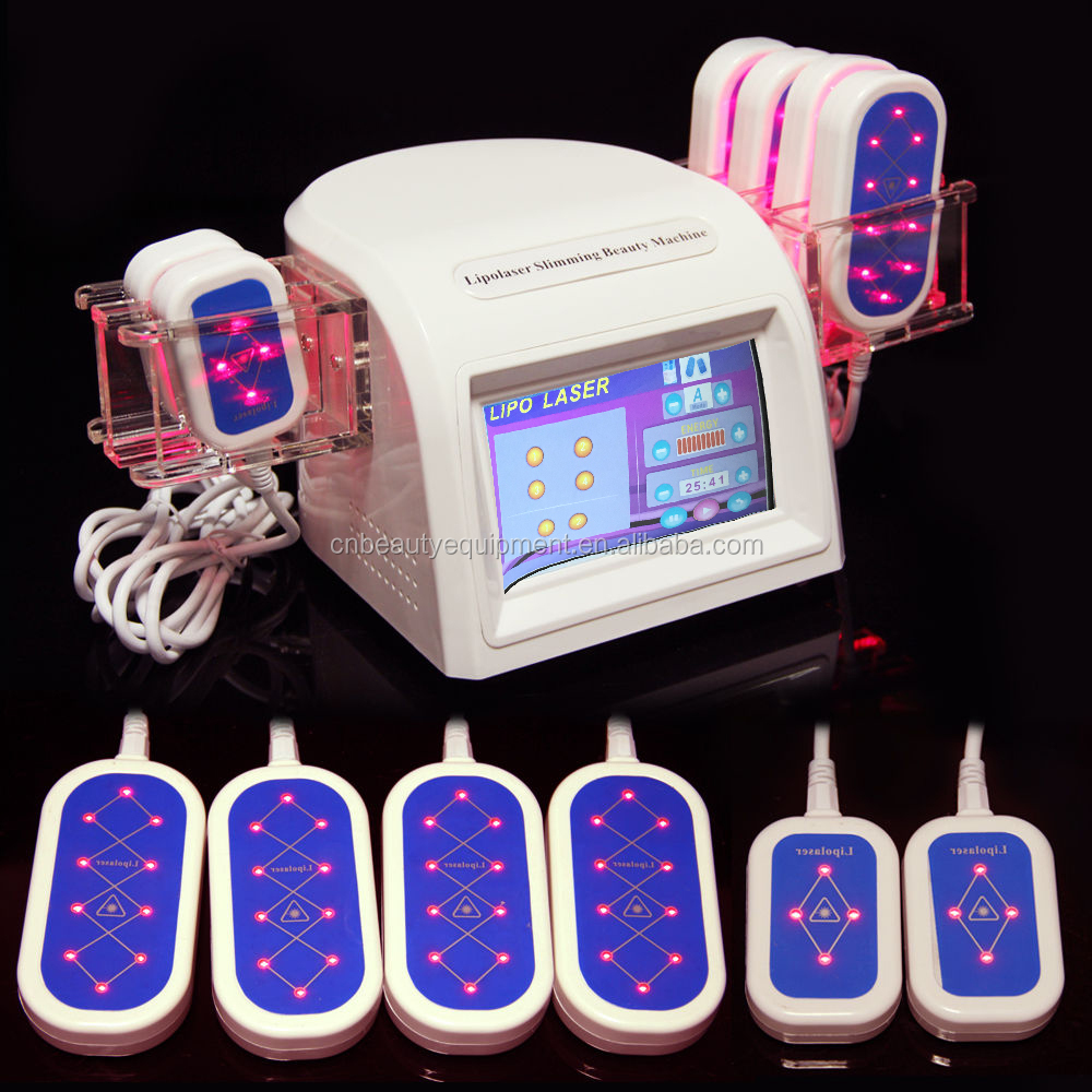Powerful 200MW promotion price lipolaser Body Shaping Lipo Slimming Diode Laser Anti-Cellulite Salon Machine