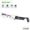 High Resolution Black color Wifi Video Recording Camera Smart Glasses