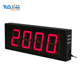 5 inch 4 digits LED timer clock days countdown timer day count up clock
